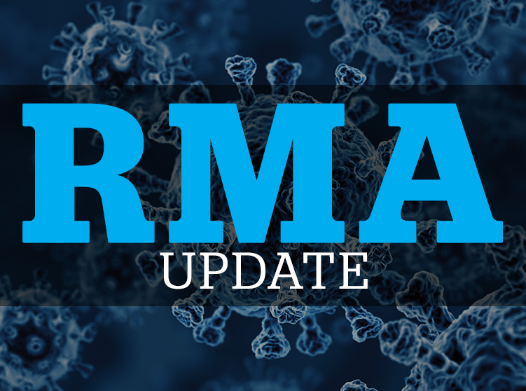 RMA announces date changes due to COVID-19